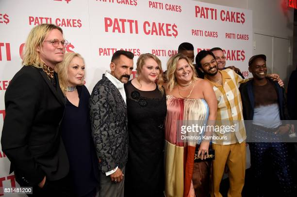 Director Geremy Jasper Cathy Moriarty Wass Stevens Danielle Macdonald Bridget Everett Mamoudou Athie and Sahr Ngaujah attend the 'Patti Cake$' New...