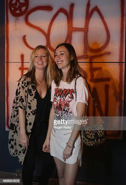 Director Gia Coppola and friends interact with PHHHOTO at the SXSW 808 Extravaganza presented by Dazed Confused Arthur Baker and Soho House @ The...