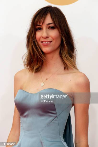 Director Gia Coppola arrives at the 65th Annual Primetime Emmy Awards held at Nokia Theatre LA Live on September 22 2013 in Los Angeles California
