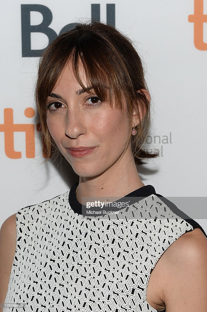 Director Gia Coppola arrives at the 'Palo Alto' premiere during the 2013 Toronto International Film Festival at Scotiabank Theatre on September 6...