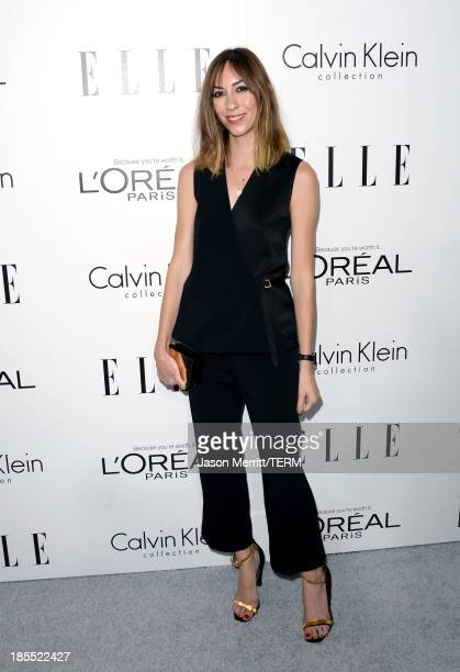 Director Gia Coppola attends ELLE's 20th Annual Women In Hollywood Celebration at Four Seasons Hotel Los Angeles at Beverly Hills on October 21 2013...