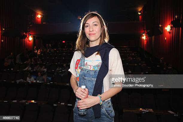 Director Gia Coppola attends 'Music Videos' during the 2015 SXSW Music Film Interactive Festival at Alamo Ritz on March 17 2015 in Austin Texas