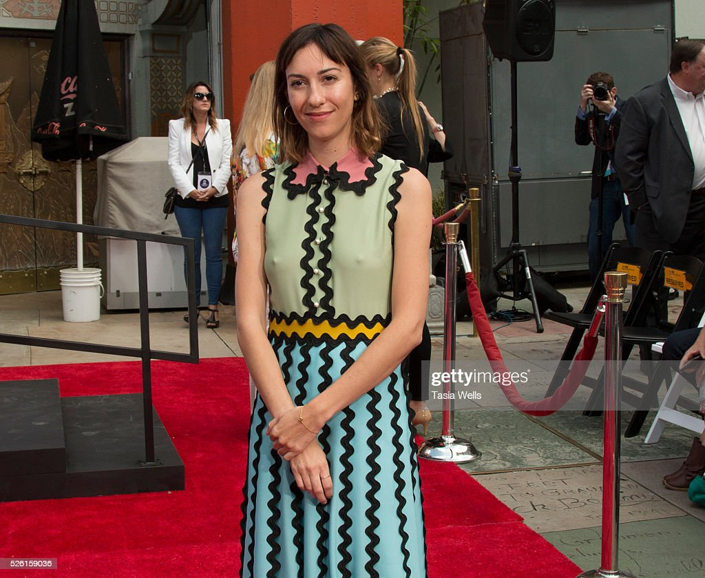 Director <a gi-track='captionPersonalityLinkClicked' href=/galleries/search?phrase=Gia+Coppola&family=editorial&specificpeople=3099216 ng-click='$event.stopPropagation()'>Gia Coppola</a> attends TCM Honors Academy Award winning filmmaker Francis Ford Coppola with a Hand and Footprint Ceremony at TCL Chinese Theatre IMAX on April 29, 2016 in Hollywood, California.