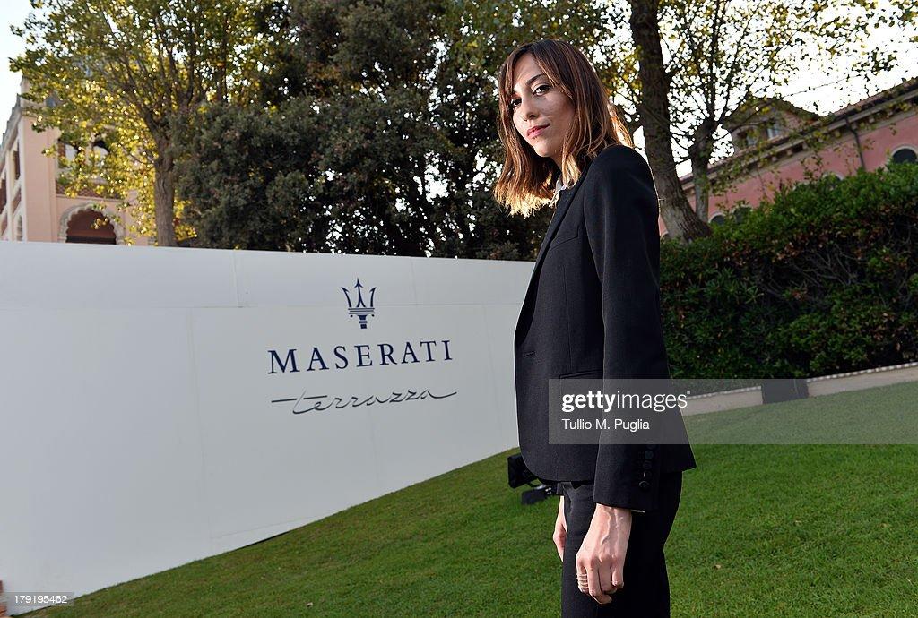 Director Gia Coppola attends the 70th Venice International Film Festival at Terrazza Maserati on September 1, 2013 in Venice, Italy.