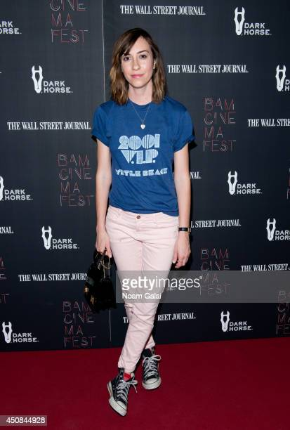 Director Gia Coppola attends the 'Boyhood' opening night screening during the 2014 BAMcinemaFest at BAM Harvey Theater on June 18 2014 in New York...