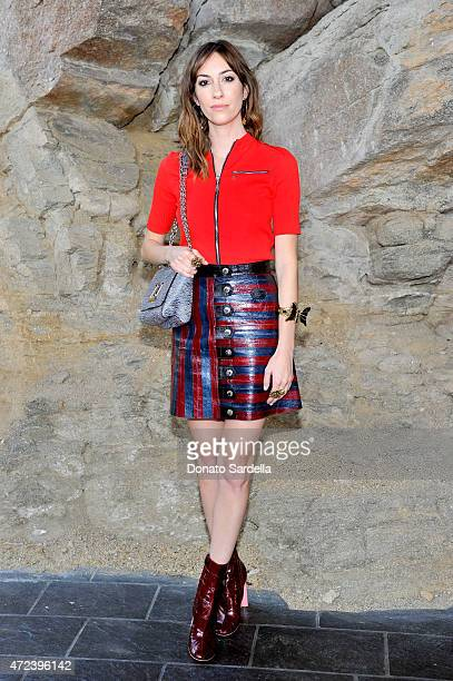 Director Gia Coppola attends the Louis Vuitton Cruise 2016 Resort Collection shown at a private residence on May 6 2015 in Palm Springs California