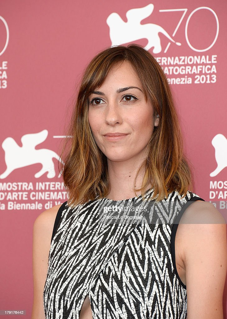 Director Gia Coppola attends the 'Palo Alto' Photocall during the 70th Venice International Film Festival at the Sala Grande on September 1, 2013 in Venice, Italy.