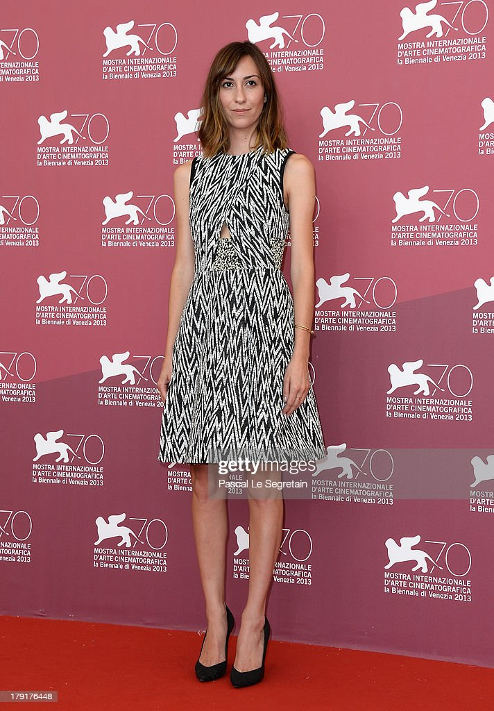 Director <a gi-track='captionPersonalityLinkClicked' href=/galleries/search?phrase=Gia+Coppola&family=editorial&specificpeople=3099216 ng-click='$event.stopPropagation()'>Gia Coppola</a> attends the 'Palo Alto' Photocall during the 70th Venice International Film Festival at the Sala Grande on September 1, 2013 in Venice, Italy.