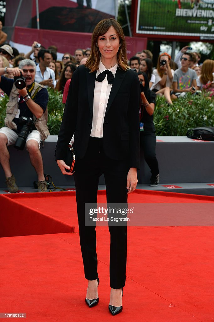 Director Gia Coppola attends the 'Palo Alto' Premiere during the 70th Venice International Film Festival at the Sala Grande on September 1, 2013 in Venice, Italy.
