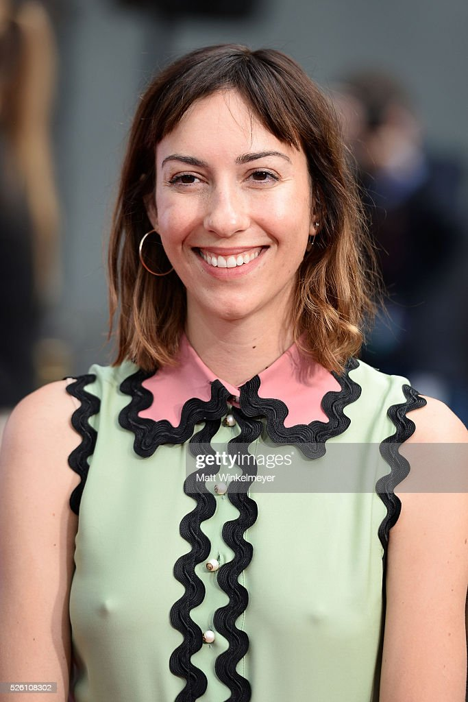 Director <a gi-track='captionPersonalityLinkClicked' href=/galleries/search?phrase=Gia+Coppola&family=editorial&specificpeople=3099216 ng-click='$event.stopPropagation()'>Gia Coppola</a> poses for a photo as TCM honors Academy Award winning filmmaker Francis Ford Coppola with Hand/Footprint Ceremony at TCL Chinese Theatre IMAX on April 29, 2016 in Hollywood, California.
