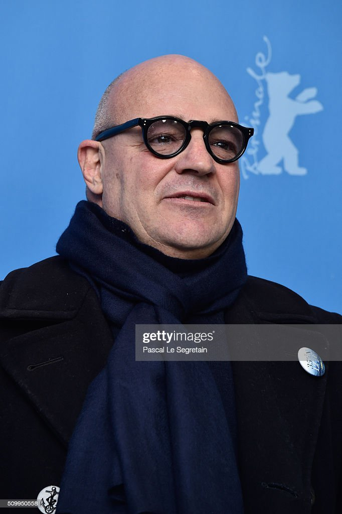Director Gianfranco Rosi attends the 'Fire at Sea' (Fuocoammare) photo call during the 66th Berlinale International Film Festival Berlin at Grand Hyatt Hotel on February 13, 2016 in Berlin, Germany.