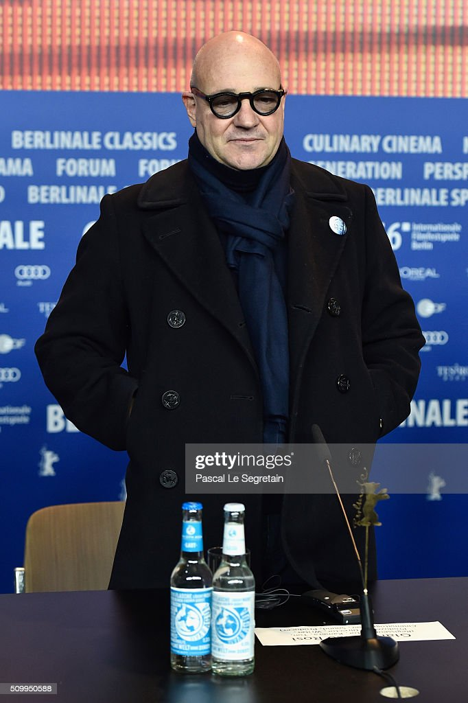 Director Gianfranco Rosi attends the 'Fire at Sea' (Fuocoammare) press conference during the 66th Berlinale International Film Festival Berlin at Grand Hyatt Hotel on February 13, 2016 in Berlin, Germany.