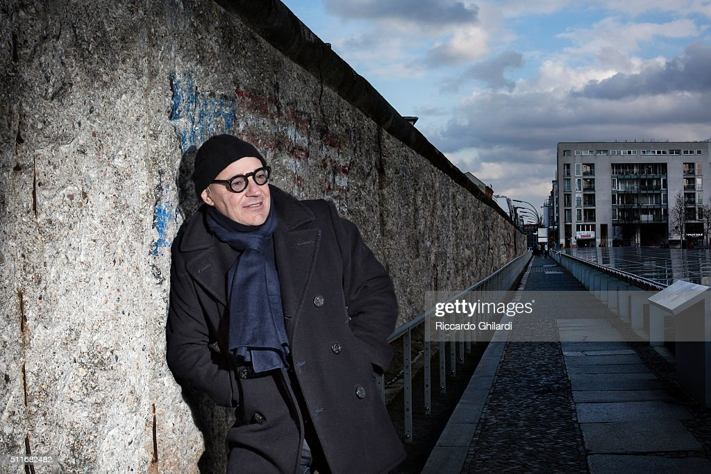 Director <a gi-track='captionPersonalityLinkClicked' href=/galleries/search?phrase=Gianfranco+Rosi+-+Film+Director&family=editorial&specificpeople=11450350 ng-click='$event.stopPropagation()'>Gianfranco Rosi</a> is photographed for Self Assignment on February 12, 2016 in Berlin, Germany.