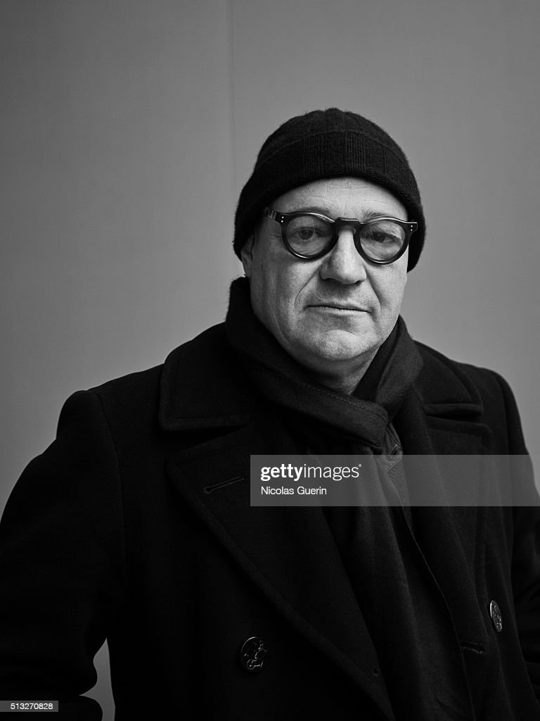 Director <a gi-track='captionPersonalityLinkClicked' href=/galleries/search?phrase=Gianfranco+Rosi+-+Film+Director&family=editorial&specificpeople=11450350 ng-click='$event.stopPropagation()'>Gianfranco Rosi</a> is photographed for Self Assignment on February 15, 2016 in Berlin, Germany.