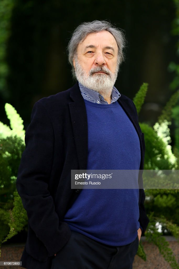 Director Gianni Amelio attend a photocall for 'La Tenerezza' at hotel Visconti Palace on April 20, 2017 in Rome, Italy.