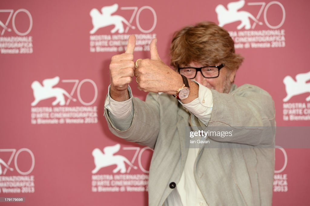 Director Gianni Bozzacchi wears the Jaeger-LeCoultre Duometre a Quantieme Lunaire 40.5 watch at the 'Non eravamo solo... Ladri di biciclette - Il Neorealismo' Photocall during the 70th Venice Film Festival at the Palazzo del Casino on September 1, 2013 in Venice, Italy.