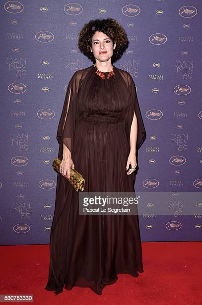 Director Ginevra Elkann arrives at the Opening Gala Dinner during The 69th Annual Cannes Film Festival on May 11 2016 in Cannes France