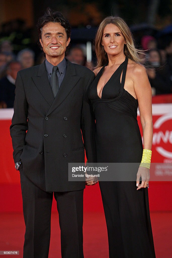 Director Giulio Base and his wife Tiziana Rocca attend the Official Awards Ceremony during Day 9 of the 4th International Rome Film Festival held at the Auditorium Parco della Musica on October 23, 2009 in Rome, Italy.