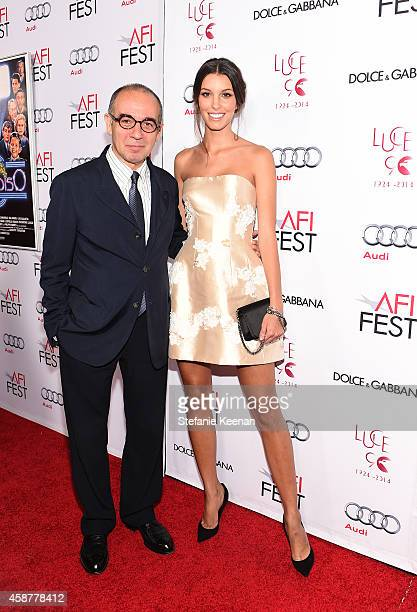 Director Giuseppe Tornatore and Kate King attend DolceGabbana celebrates the 25th anniversary of Cinema Paradiso and director Giuseppe Tornatore on...