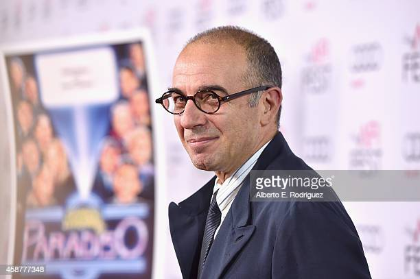 Director Giuseppe Tornatore attends the legacy screening of 'Cinema Paradiso' during the AFI FEST 2014 presented by Audi at Dolby Theatre on November...