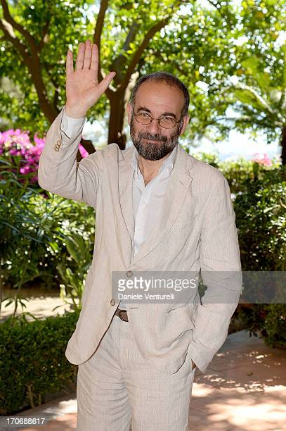 Director Giuseppe Tornatore poses during Taormina Filmfest 2013 on June 16 2013 in Taormina Italy