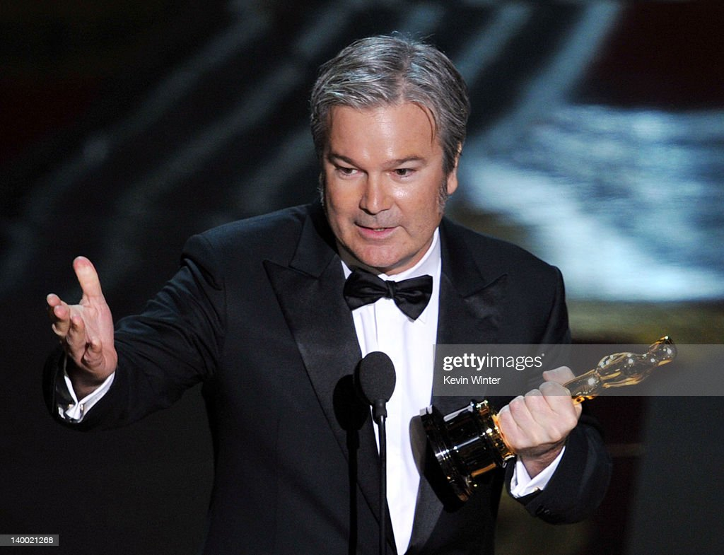 Director Gore Verbinski accepts the Best Animated Feature Award for 'Rango' onstage during the 84th Annual Academy Awards held at the Hollywood...