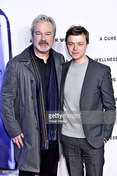 Director Gore Verbinski and US actor Dane DeHaan attend the 'A Cure for Wellness' Premiere on January 29 2017 in Berlin Germany