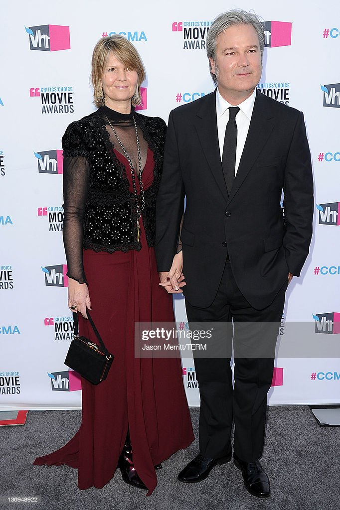 Director Gore Verbinski and wife Clayton Verbinski arrive at the 17th Annual Critics' Choice Movie Awards held at The Hollywood Palladium on January...