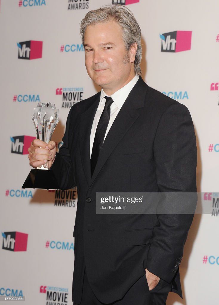Director Gore Verbinski poses at the 17th Annual Critics Choice Movie Awards Press Room at The Hollywood Palladium on January 12 2012 in Los Angeles...