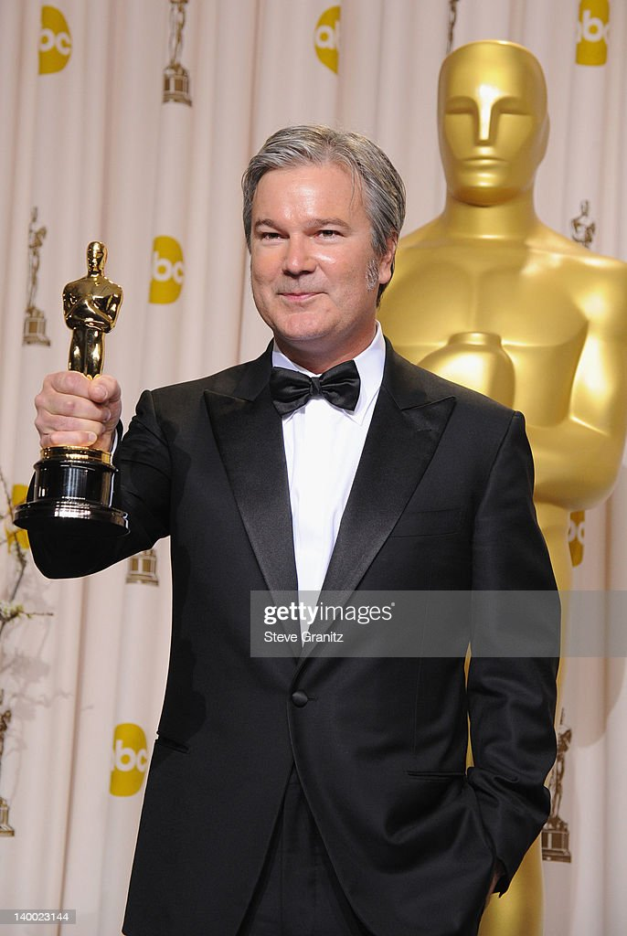 Director Gore Verbinski poses in the press room at the 84th Annual Academy Awards held at the Hollywood Highland Center on February 26 2012 in...