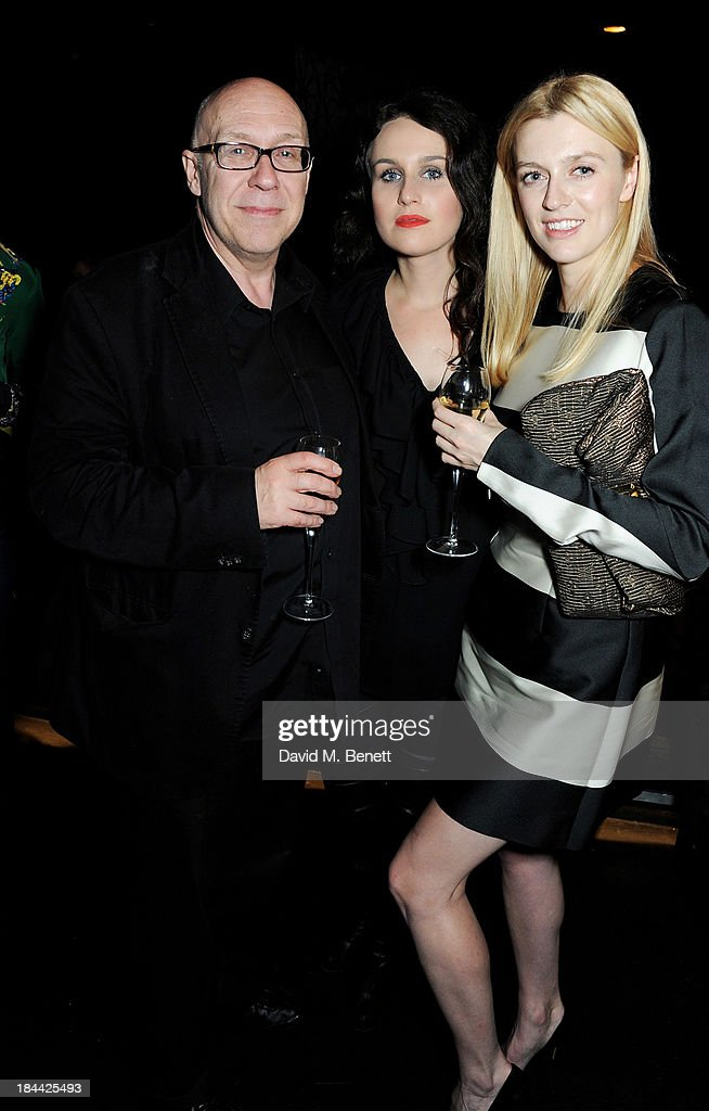 Director Gracie Otto (R) attends a post-screening party for 'The Last Impresario' during the 57th BFI London Film Festival at The Arts Club on October 13, 2013 in London, England.