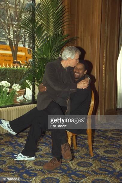 Director Gregory Hoblit and actor Denzel Washington