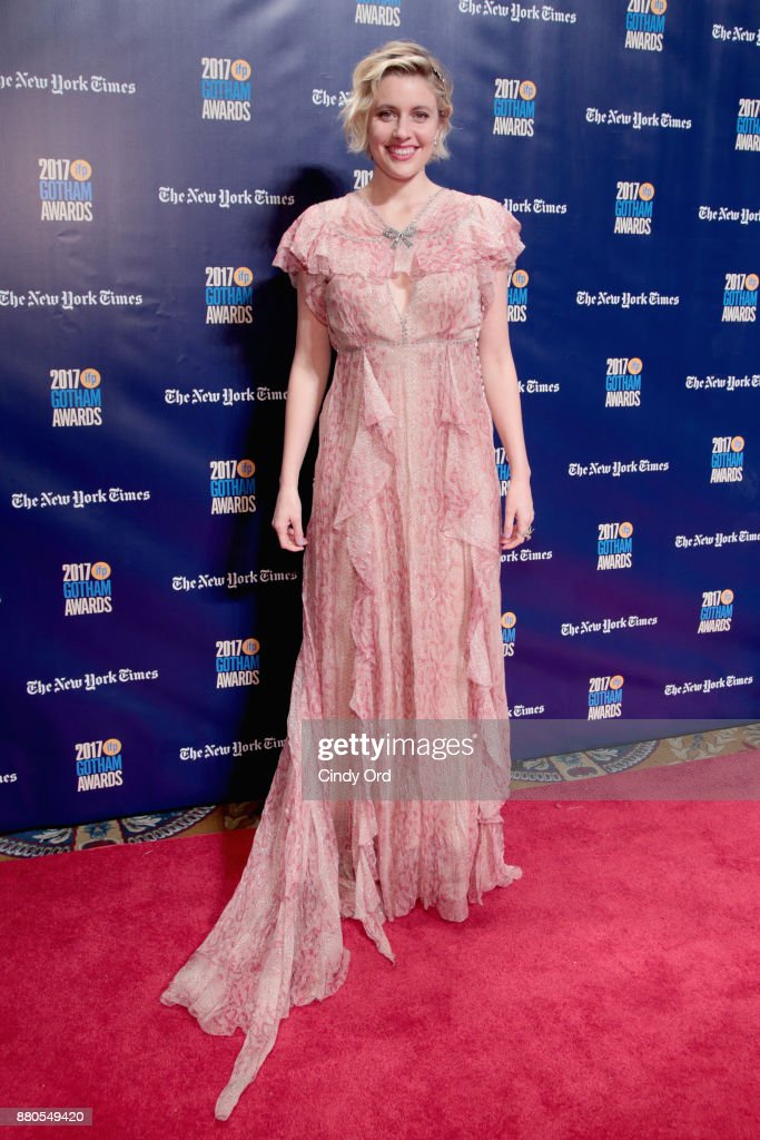 Director Greta Gerwig attends IFP's 27th Annual Gotham Independent Film Awards on November 27, 2017 in New York City.