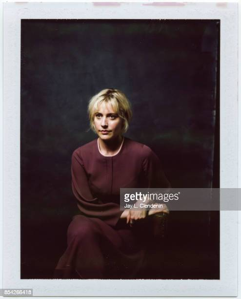 Director Greta Gerwig from the film 'Lady Bird' is photographed on polaroid film at the LA Times HQ at the 42nd Toronto International Film Festival...