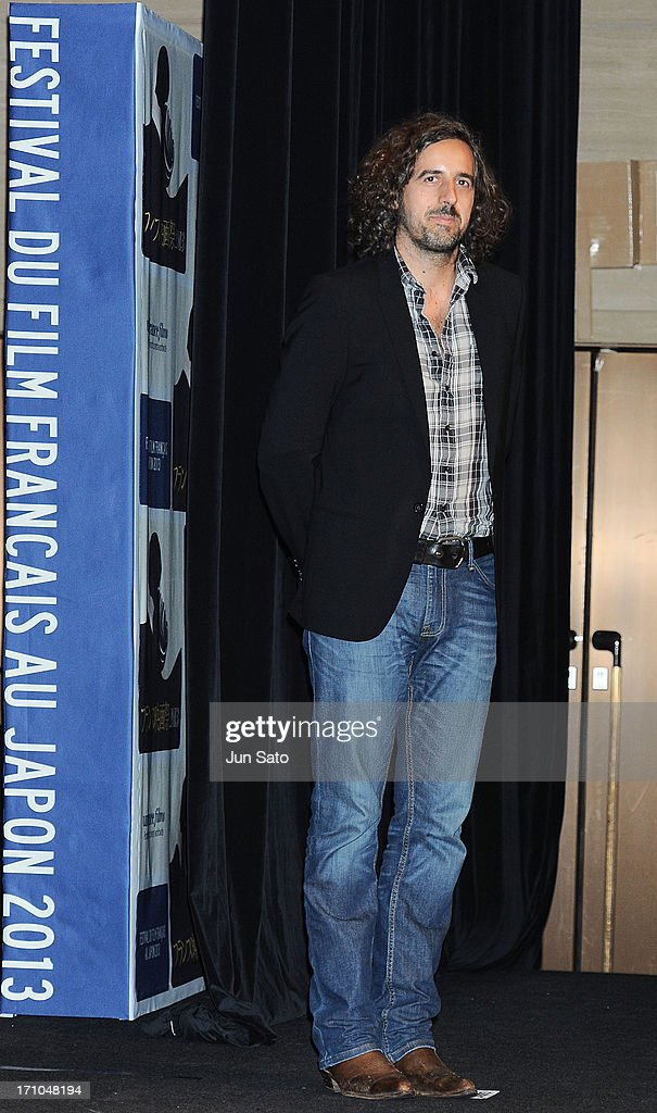 Director Guillaume Brac attends the French Film Festival 2013 at Yurakucho Asahi Hall on June 21, 2013 in Tokyo, Japan.
