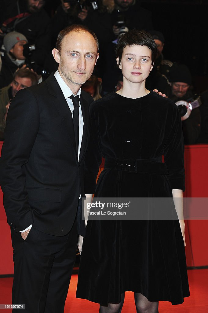 Director Guillaume Nicloux and actress <a gi-track='captionPersonalityLinkClicked' href=/galleries/search?phrase=Pauline+Etienne&family=editorial&specificpeople=6128830 ng-click='$event.stopPropagation()'>Pauline Etienne</a> attend 'The Nun' Premiere during the 63rd Berlinale International Film Festival at Berlinale Palast on February 10, 2013 in Berlin, Germany.