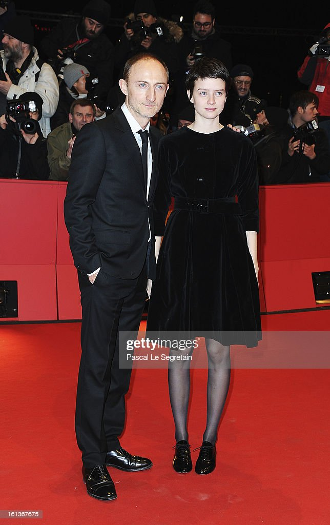 Director Guillaume Nicloux and actress Pauline Etienne attend 'The Nun' Premiere during the 63rd Berlinale International Film Festival at Berlinale Palast on February 10, 2013 in Berlin, Germany.