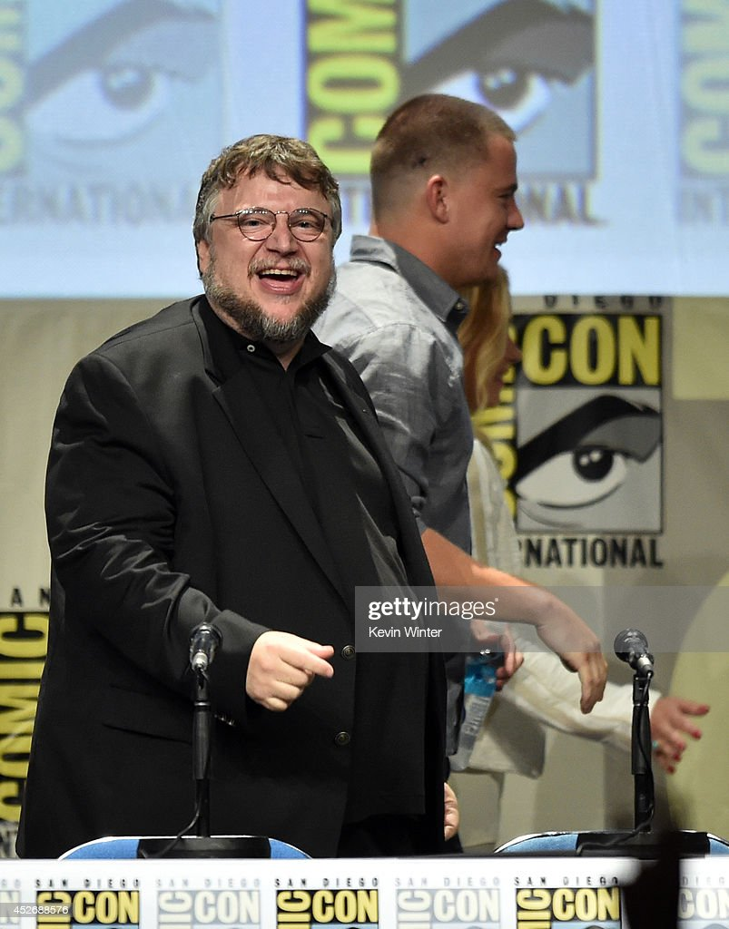 Director Guillermo del Toro (L) and actor Channing Tatum attend the 20th Century Fox presentation during Comic-Con International 2014 at San Diego Convention Center on July 25, 2014 in San Diego, California.
