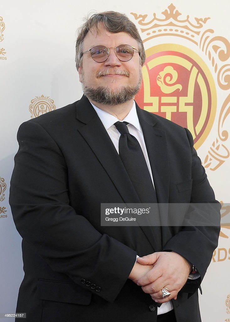 Director <a gi-track='captionPersonalityLinkClicked' href=/galleries/search?phrase=Guillermo+del+Toro&family=editorial&specificpeople=609181 ng-click='$event.stopPropagation()'>Guillermo del Toro</a> arrives at the 2014 Huading Film Awards at The Montalban Theater on June 1, 2014 in Hollywood, California.