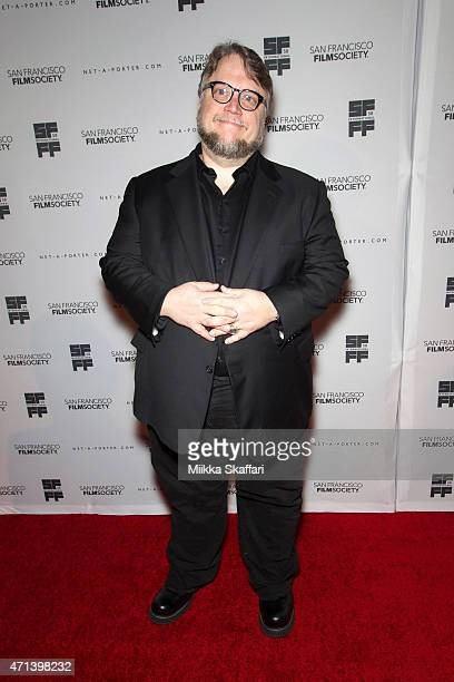 Director Guillermo del Toro arrives at the Film Society Awards night at 58th San Francisco International Film Festival at The Armory on April 27 2015...