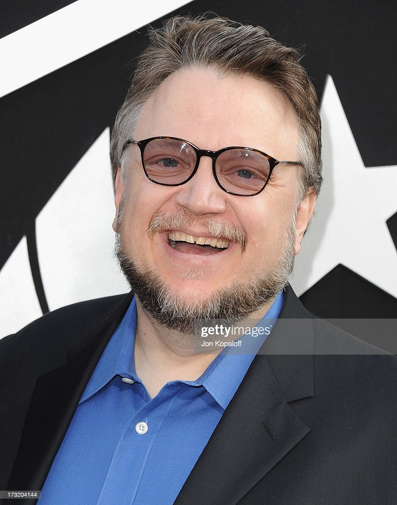 Director Guillermo del Toro arrives at the Los Angeles Premiere 'Pacific Rim' at Dolby Theatre on July 9, 2013 in Hollywood, California.