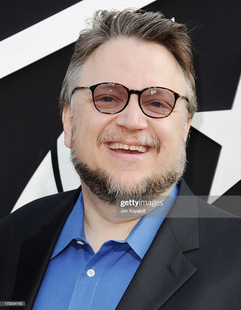 Director <a gi-track='captionPersonalityLinkClicked' href=/galleries/search?phrase=Guillermo+del+Toro&family=editorial&specificpeople=609181 ng-click='$event.stopPropagation()'>Guillermo del Toro</a> arrives at the Los Angeles Premiere 'Pacific Rim' at Dolby Theatre on July 9, 2013 in Hollywood, California.