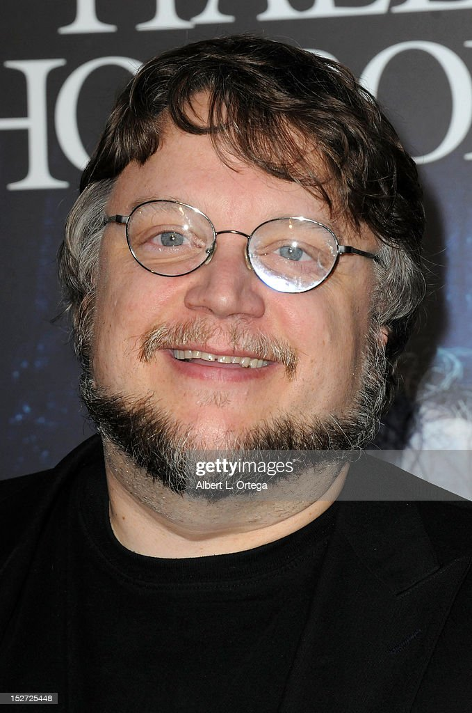 Director <a gi-track='captionPersonalityLinkClicked' href=/galleries/search?phrase=Guillermo+del+Toro&family=editorial&specificpeople=609181 ng-click='$event.stopPropagation()'>Guillermo del Toro</a> arrives for Universal Studios Hollywood 'Halloween Horror Night' and Eye Gore Awards Kick Off Party held at Universal Studios Hollywood on September 21, 2012 in Universal City, California.