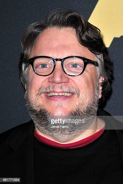 Director Guillermo del Toro attends 'In The Labyrinth A Conversation with Guillermo Del Toro' at Samuel Goldwyn Theater on October 7 2015 in Beverly...