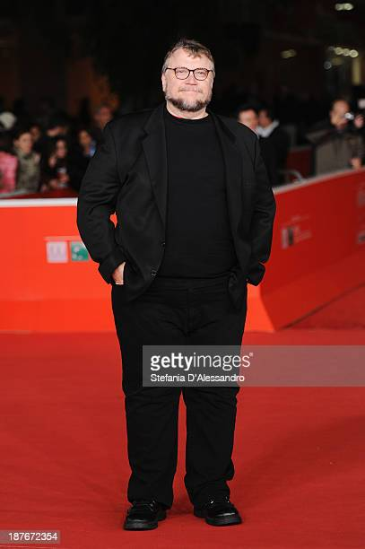 Director Guillermo Del Toro attends 'Romeo And Juliet' Premiere during The 8th Rome Film Festival on November 11 2013 in Rome Italy