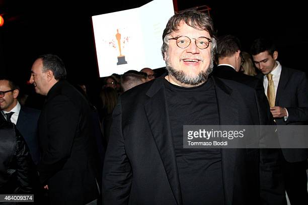 Director Guillermo del Toro attends the 87th annual Academy Awards Oscar Week celebrates Foreign Language Films held at Future Home Of The Academy...
