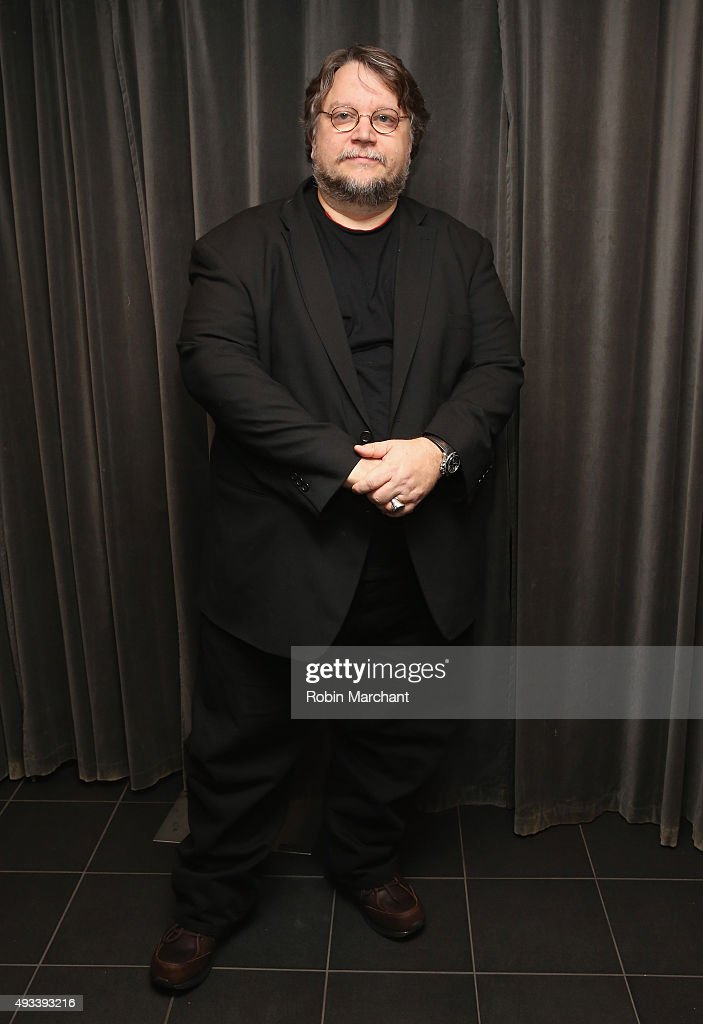 Director Guillermo del Toro attends The Academy Of Motion Picture Arts And Sciences An academy Screening Of CRIMSON PEAK on October 19 2015 in New...
