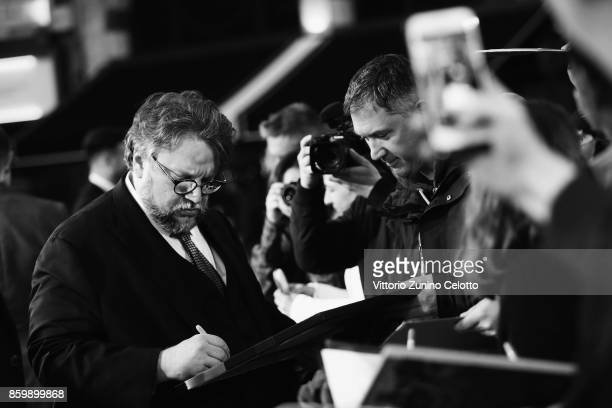 Director Guillermo del Toro attends the American Airlines Gala and UK Premiere of 'The Shape Of Water' during the 61st BFI London Film Festival on...