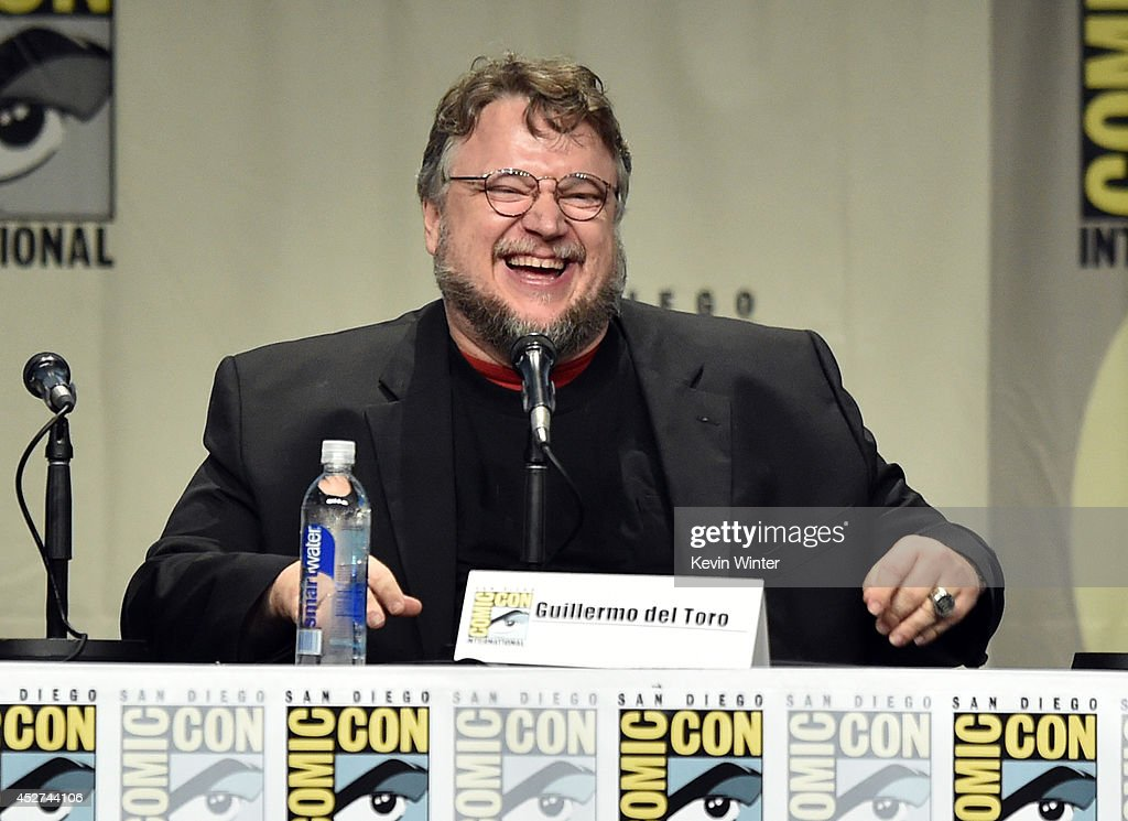 Director Guillermo del Toro attends the Legendary Pictures preview and panel during ComicCon International 2014 at San Diego Convention Center on...
