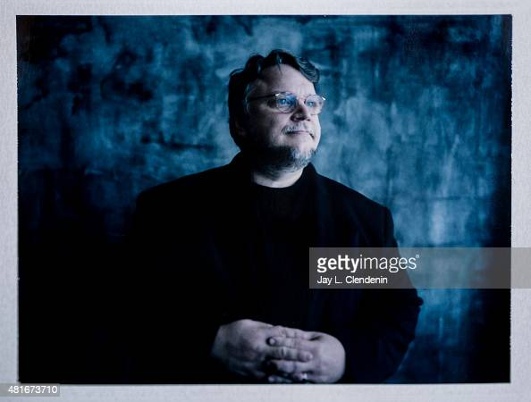 Director Guillermo del Toro of 'Crimson Peak' is photographed on polaroid film at ComicCon International 2015 for Los Angeles Times on July 9 2015 in...